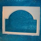 "GARAGE DOOR  WINDOW  Insert  new style ""Cathedral"" 12 1/2""x 16 1/2""  stk#(3079)"