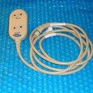 INVACARE Semi-Electric adjustable bed Pendant Control  P/N 1115288 stk#(2832)