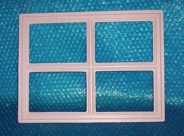 Garage door window insert stockton 12 1 2 x 16 1 2 set for Clopay window inserts