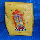 Vintage McDonalds Yellow Lunch Bag 1988   stk#(3178)
