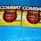 Combat Source Kill MAX, Roach killer bait 2 Pack deal stk#(3210)