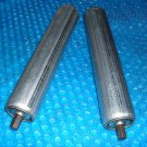 "set of two conveyor Straight Rollers 1.9"" x 9 5/8""  stk#(3219)"