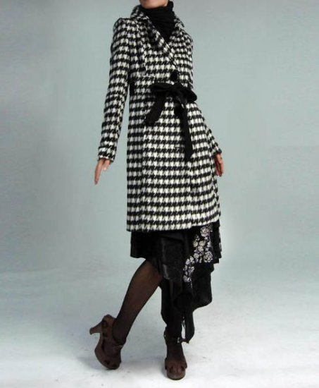 Noble Cashmere Coat Bird Chess