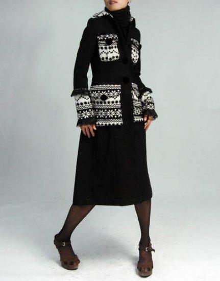 Black Prince Cashmere Coat
