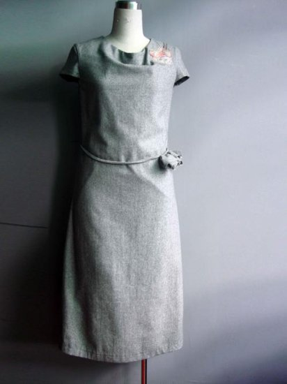 Dream Grey Dress The Blossom