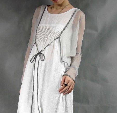 Transparent Silk Thin Cardigan