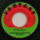 "Credence Clearwater""Born on the Bayou"" Fantasy 45 Vinyl"