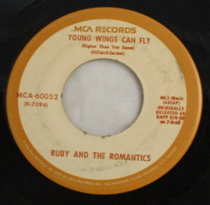 Ruby and the Romantics- Our Day Will Come-MCA 45