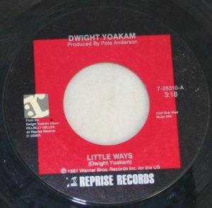 Dwight Yoakam-Little Ways/Readin',Rightin',RT.23-Reprise-45 Vinyl Record