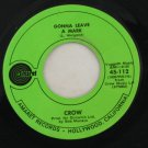 Crow-Evil Woman Don't Play Your Games With Me/Gonna Leave a Mark 45 rpm Record VINTAGE RECORDS