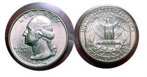 1934 Washington Quarter  MS 65 BU
