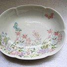 Shibata Japan Flowers & Butterflies Dish