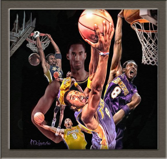"""The Black Mamba""  (40 x 42)"