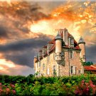 Chateau de la Borie French Series France ART PAINTING by McKenzie