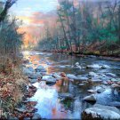"""Stream on Fire"" Eco Art Collectible Print Series"