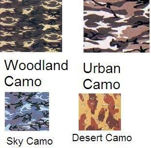 Sky Camo- 100% Cotton- 22x22 In. Bandanas ( Ordered In Multiples of 12
