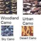 Woodland Camo- 22x22 In. 100% Cotton Bandanas ( Ordered In Multiples of 12