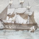 Nautical Ships Wall Paper Border