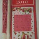Collectible 2010 Apples Calendar Towel