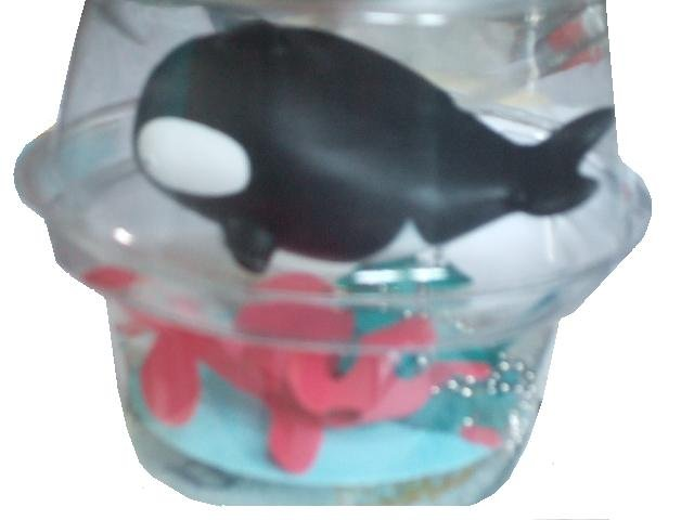 Killer Whale Bath Tub Plug