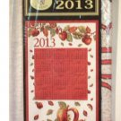 Apples Calendar Hanging Kitchen Towel 2013