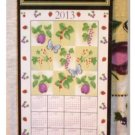 Fruit and Butterflies 2013 Calendar Towel
