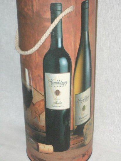 Wine Box Holder Carrier Merlot Chardonnay Wine Bottles