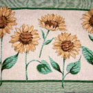 Sunflower Reversible Tapestry Placemats