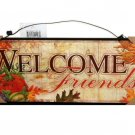 Autumn Leaves Fruit Welcome Sign Cabin Lodge Decor