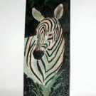Zebra Resin Wall Plaque Tile