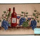 Grapes Wine Napa Valley Kitchen Rug