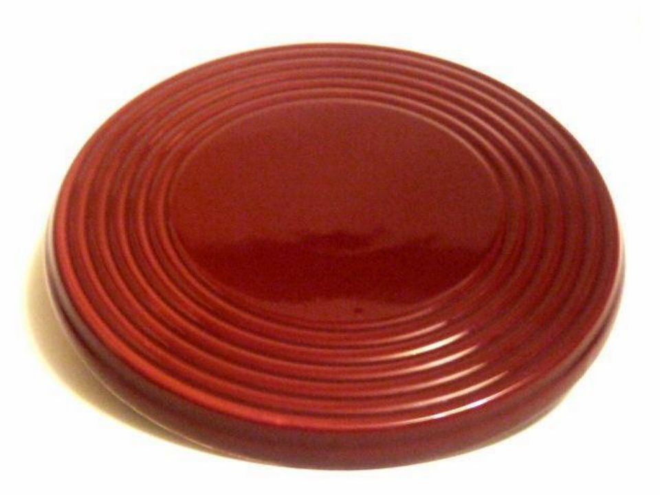 Blonder Home Red Clay Pots Glazed Pottery Trivet