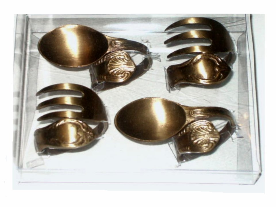 Unique Spoon Fork Napkin Rings