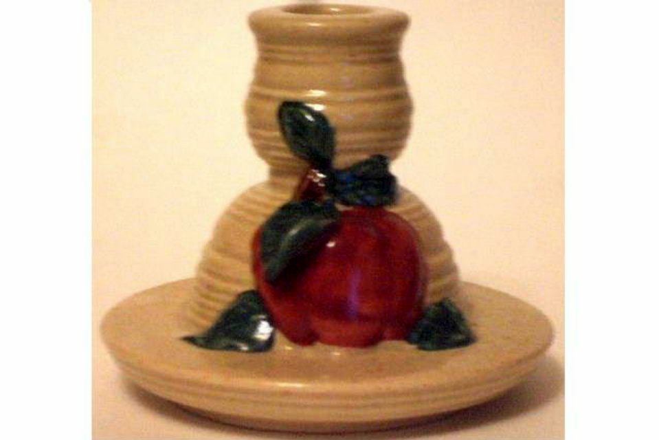 Ceramic Apple Candle Holder