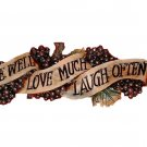 Live Love Laugh Swag Banner Wall Decor