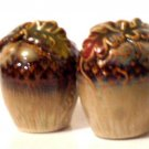 Acorn Shaped Salt Pepper Shakers Cabin Lodge Kitchen Decor