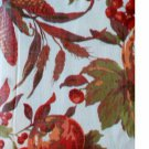 Pumpkins Fruit Leaves Autumn Tablecloth Round