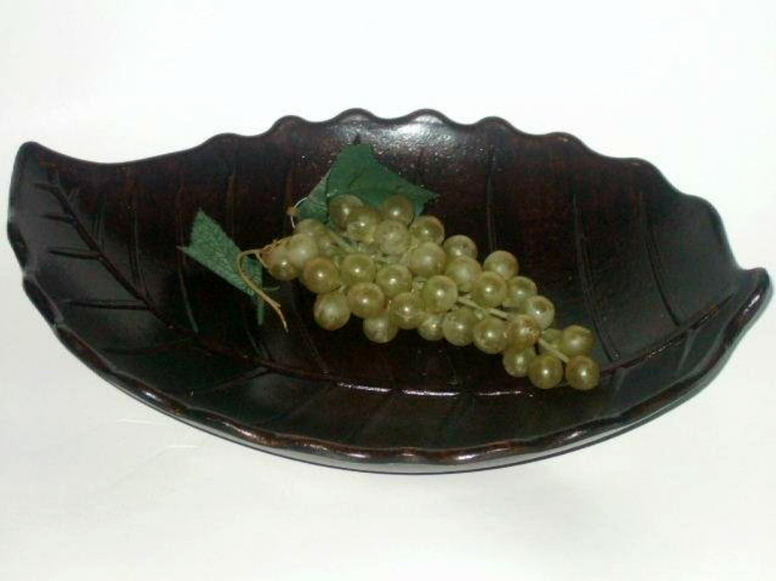 Wooden Leaf Tray Autumn Decor