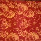 Autumn Pumpkins Fabric Placemats