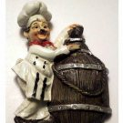 Fat Italian Chefs Refrigerator Magnets Set