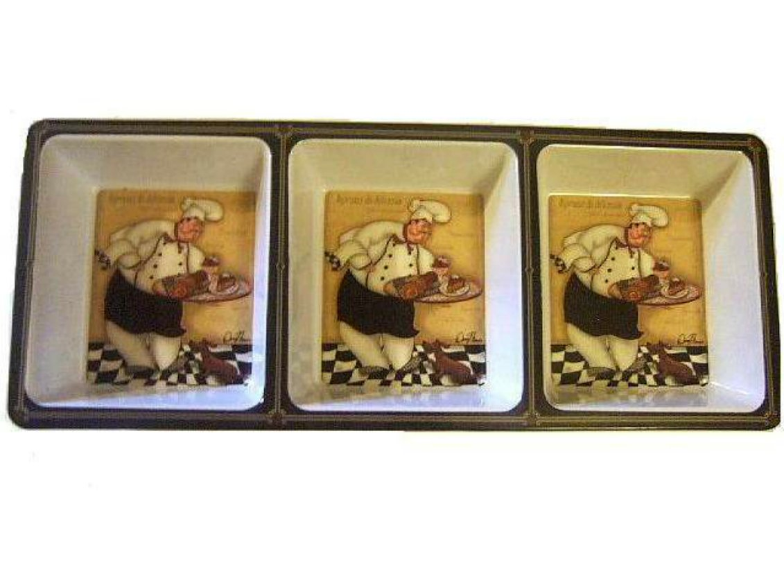 Fat Chef Tidbit Tray Serveware