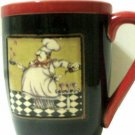 Fat French Chef Coffee Mug Cup