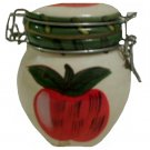 Apple Mini Ceramic Canister