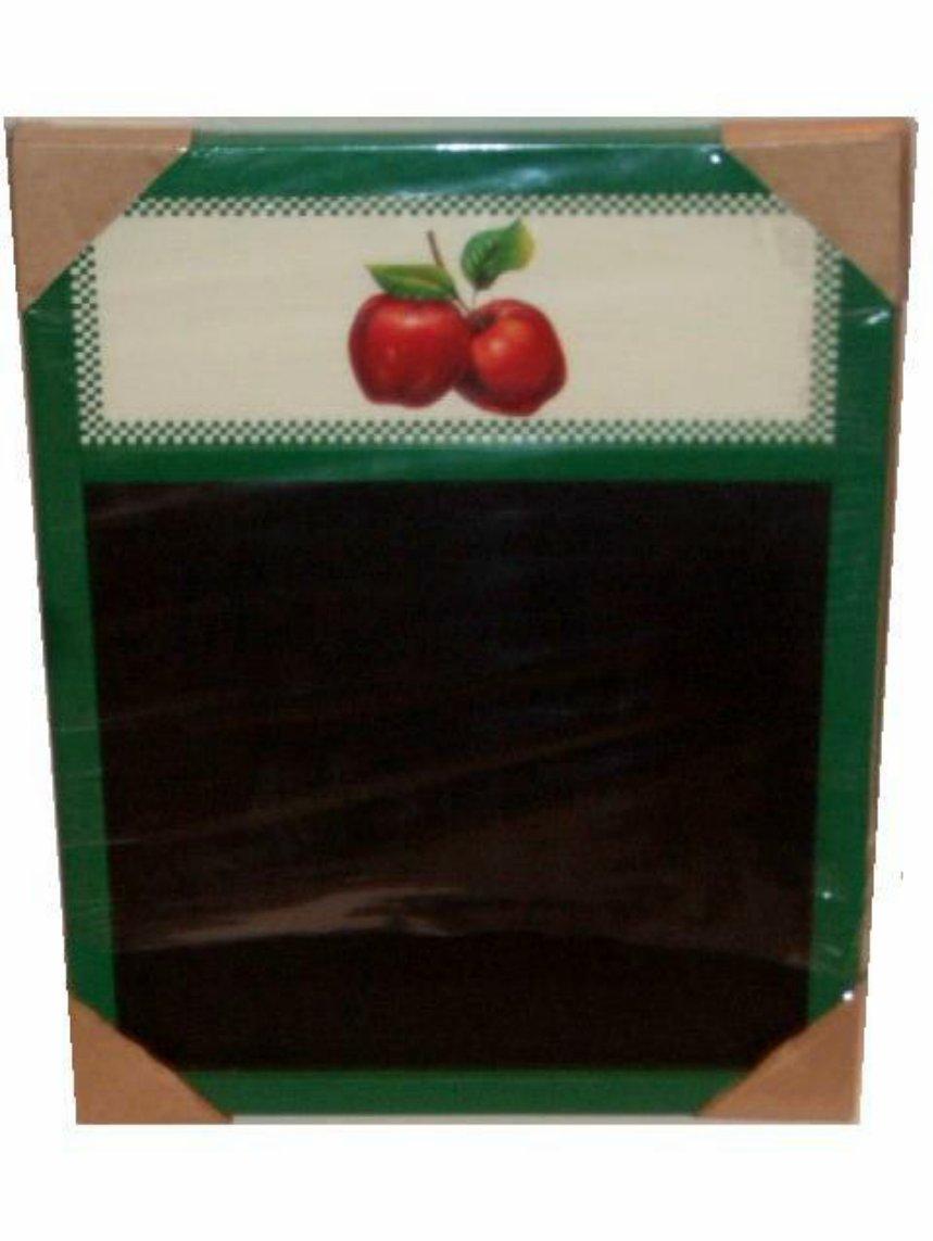 Apples Menu Memo Chalk Board