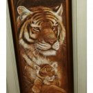 African Tiger Cub Wall Art Picture Safari Decor