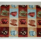 Coffee Cups Placemats