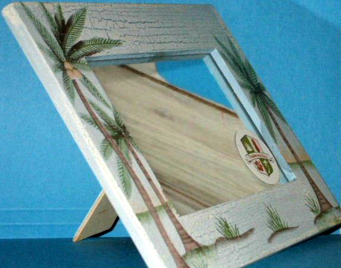 Tropical Palm Trees Mirror