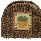 Pineapple Napkin Holder Pomerantz Tropical Kitchen Decor