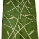 Bath Hand Towels JC Penney Zen Leaf Bamboo