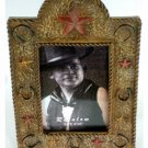 Western Stars Horseshoes Resin Photo Frame